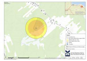 Cap-Pelé Geo Satellite test